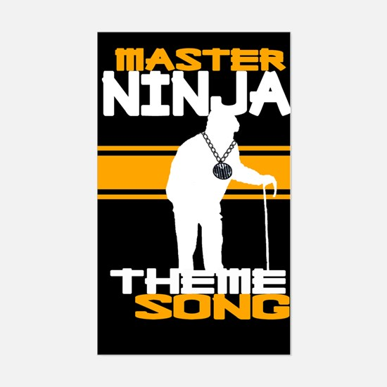 Master Ninja Theme Song Sticker!