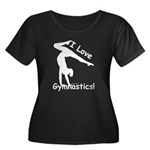 Gymnastics T-Shirt (Plus) - Love