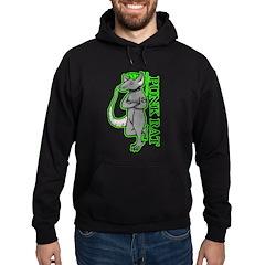 Punk Rat Hoodie (dark)