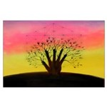 HAND TREE 23X35 Large Poster