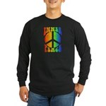 Inner Peace Long Sleeve Dark T-Shirt