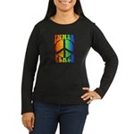 Inner Peace Women's Long Sleeve Dark T-Shirt