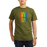 Inner Peace Organic Men's T-Shirt (dark)