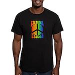 Inner Peace Men's Fitted T-Shirt (dark)