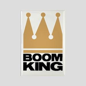 Boom King Rectangle Magnet
