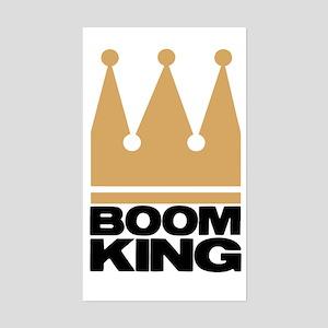 Boom King Sticker (Rectangle)