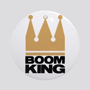 Boom King Ornament (Round)
