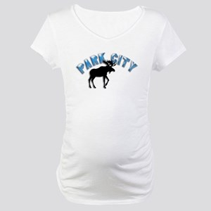 Park City, Utah Maternity T-Shirt