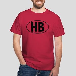 H.B. - Huntington Beach Dark T-Shirt