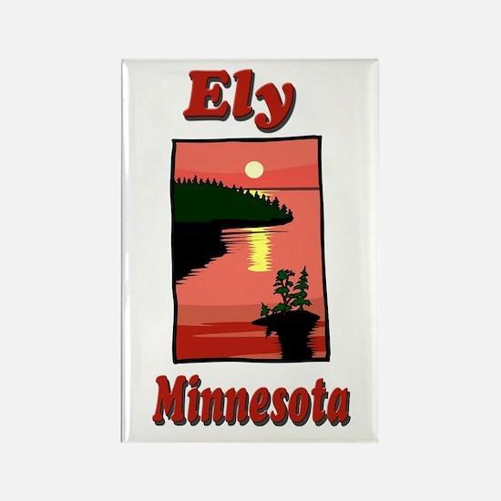 Ely Minnesota Rectangle Magnet