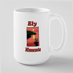 Ely Minnesota Large Mug