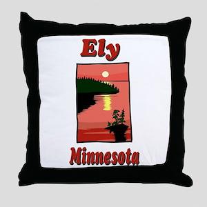 Ely Minnesota Throw Pillow