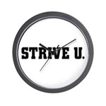 STRIVE U Wall Clock