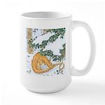 Snow Dragon II Large Mug