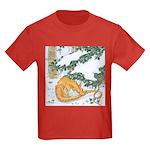 Snow Dragon II Kids Dark T-Shirt