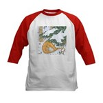 Snow Dragon II Kids Baseball Jersey