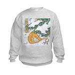 Snow Dragon II Kids Sweatshirt