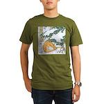 Snow Dragon II Organic Men's T-Shirt (dark)
