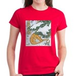 Snow Dragon II Women's Dark T-Shirt