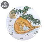 """Snow Dragon II 3.5"""" Button (10 pack)"""