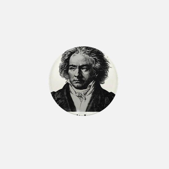 Cute Beethoven Mini Button (10 pack)