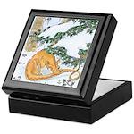 Snow Dragon II Keepsake Box