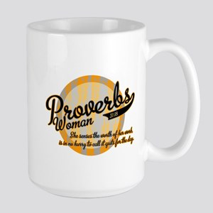 Proverbs Woman Large Mug