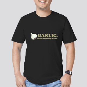 Garlic Makes Everything Bette Men's Fitted T-Shirt