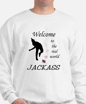 Welcome To The Real World Sweatshirt