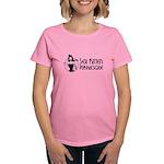 Skp Black Logo T-Shirt