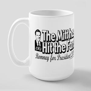 Mitt has Hit the Fan 2008 Large Mug
