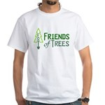 Friends of Trees White T-Shirt