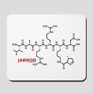 Jarrod name molecule Mousepad