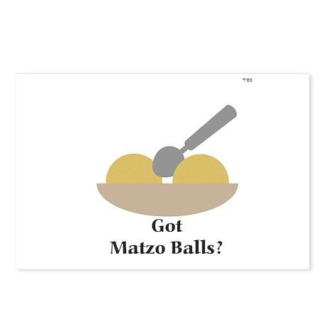 """""""Got Matzo Balls?"""" Postcards (Package of 8)"""