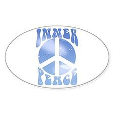 Inner Peace Oval Sticker