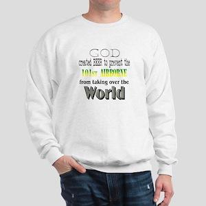 101st Airborne, God & Beer Sweatshirt