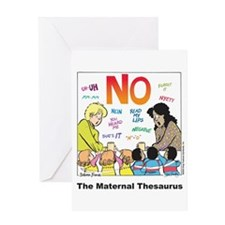 Maternal Thesaurus Greeting Card