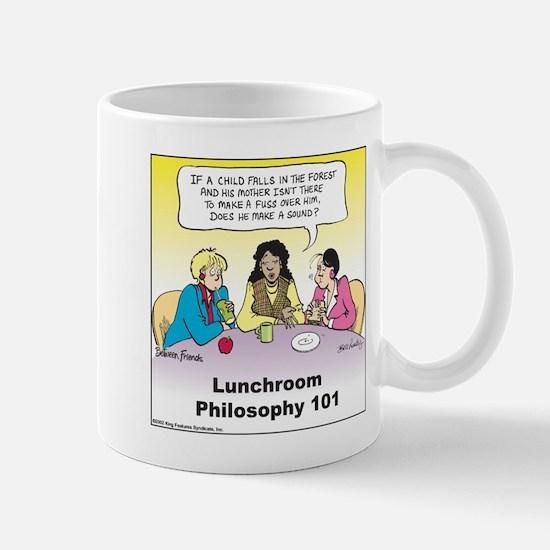Lunchroom Philosophy Mug