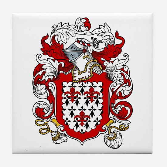 Fabian Coat of Arms Tile Coaster