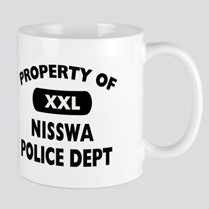 Property of Nisswa Police Dept Mug