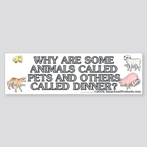 Why are some animals Sticker (Bumper)