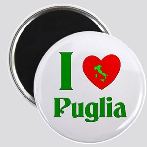 I Love Puglia Magnet
