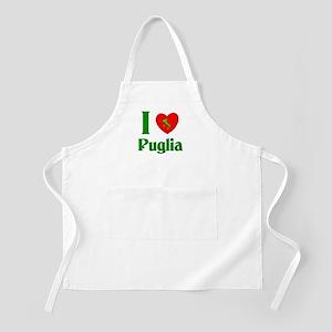 I Love Puglia BBQ Apron