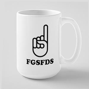 FGSFDS logo Large Mug