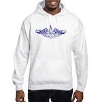 Submarine Dolphins Hooded Sweatshirt