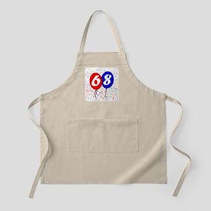 68th Birthday BBQ Apron