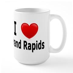 I Love Grand Rapids Large Mug