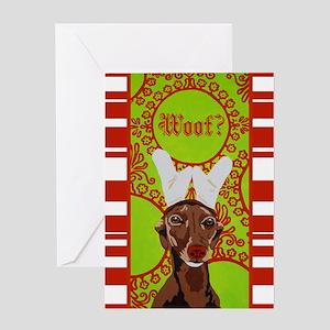 Christmas Rupert card Greeting Cards
