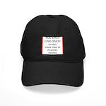 Funny sports and gaming joke Baseball Hat