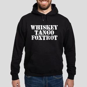 Whiskey Tango Foxtrot Hoodie (dark)